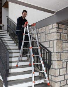 Escaleras Domésticas La Seguridad Es El Principal Peldaño